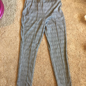 Pants - Houndstooth Plad Grid Pant Pants